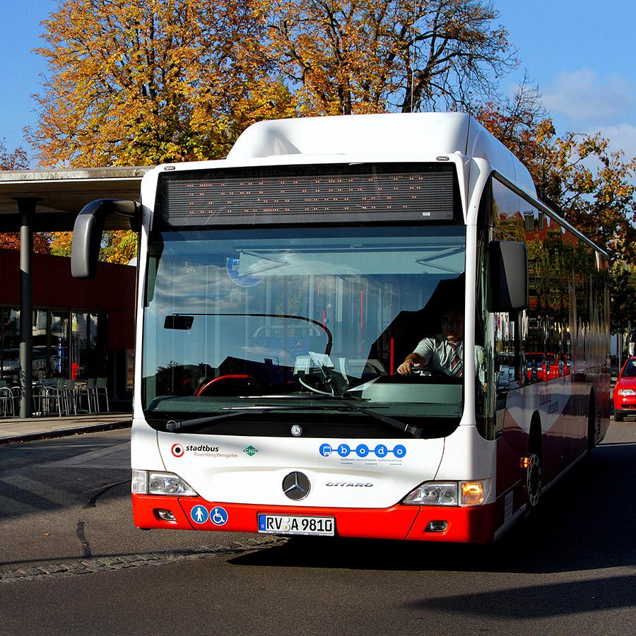 Der Stadtbus – Partner des bodo